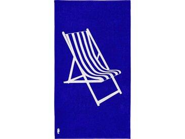 Seahorse Strandtuch »Take a seat« (1-St), mit Liegestuhl