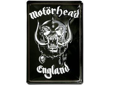 LOGOSHIRT Blechschild mit coolem Motörhead-Blechschild, bunt, farbig