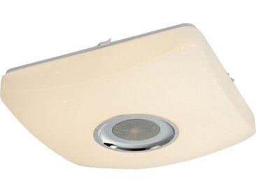 Globo Deckenleuchte »AYLEEN«, 5W Bluetooth Lautsprecher, Nachtlicht, Memory