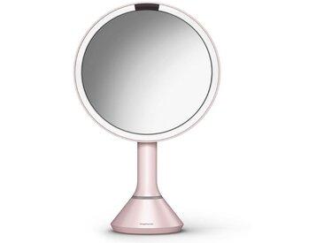 simplehuman Spiegel »20 cm Sensorspiegel mit Touch-Helligkeitsregelung«, braun, braun