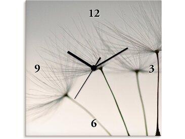 Artland Wanduhr »Pusteblumen-Samen«, grau, Quarzuhr, grau