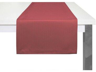 Adam Tischläufer »Uni Collection«, GOTS zertifiziert, nachhaltig, rot, dunkelrot