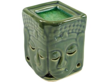 Guru-Shop Duftlampe »Exotische Duftlampe, Aromalampe Keramik Buddha..«