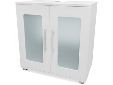 Vicco Waschbeckenunterschrank »Waschtischunterschrank Rayk Unterschrank Waschbecken Waschtisch Bad Weiß«