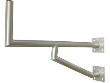 PremiumX »60cm Wandhalter Aluminium Wand Montage Winkel Halterung für Satelliten-Schüssel SAT-Antenne mit zwei Wandplatten« SAT-Halterung