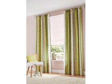 my home Vorhang »Gosen«, Kräuselband (2 Stück), Gardine, Fertiggardine, blickdicht, grün, grün