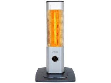 Vasner Heizstrahler »StandLine Mini 12«, 1200 W, 2 Heizstufen, Thermostat, silberfarben, silberfarben