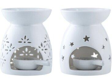 LOVECASA Duftlampe, Blumen und Sterne
