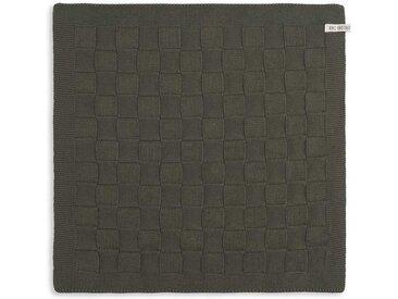 Knit Factory Tischdecke »Küchentuch Uni Khaki«