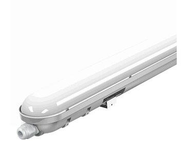 etc-shop Außen-Deckenleuchte, Decken LED Lampe Leuchte Werkstatt Garage Industrie Lager robust 6000K Variante, 60 Watt