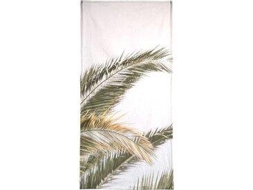 Juniqe Handtuch »Oasis Palm 3« (1-St), Weiche Frottee-Veloursqualität