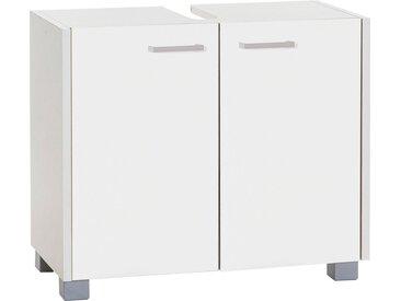 Schildmeyer Waschbeckenunterschrank »Laif«, weiß, weiß/weiß