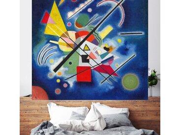 Posterlounge Wandbild, Blaue Malerei, Acrylglasbild