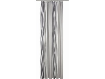 Wirth Vorhang nach Maß »BROOKLYN«, Kräuselband (1 Stück), Breite 142 cm, grau, grau