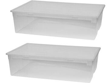Kreher Aufbewahrungsbox (Set, 2 Stück), mit Deckel, Größe XL