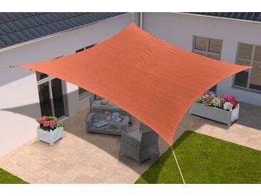 KONIFERA Sonnensegel »Viereck«, 360x360 cm, in verschied. Farben, orange, terrakotta