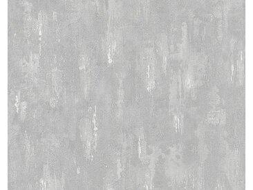 living walls LIVINGWALLS Vliestapete ��Around the world Vintage Optik«, grau, 0.53 m x 10.05 m, grau