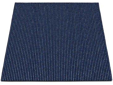 casa pura Teppichfliese »Bohemia«, Quadratisch, Höhe 6 mm, Selbstliegend, blau, Dunkelblau 05