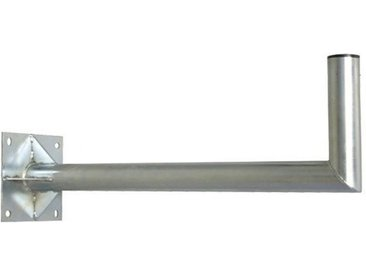 PremiumX »60cm Ø 60mm Wandhalter Stahl Winkel-Wand-Halterung für Satelliten-Schüssel SAT-Antenne mit 4-fach extra Verstrebung« SAT-Halterung