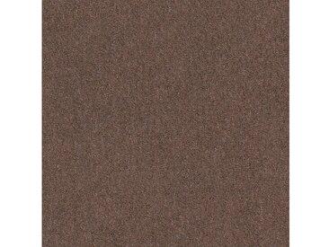 Teppichfliese »Jersey«, quadratisch, Höhe 3 mm, selbstliegend, braun, 4 St., SL 910 braun