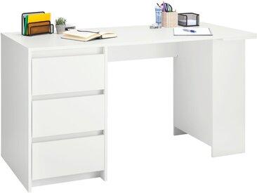 Schreibtisch »Tagetes«, weiß, weiß