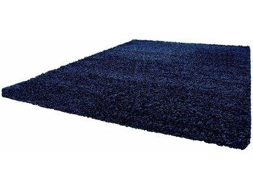 Ayyildiz Hochflor-Teppich »Life Shaggy 1500«, rechteckig, Höhe 30 mm, blau, navy