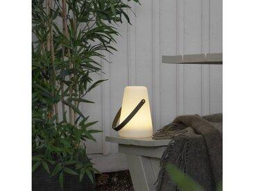 STAR TRADING LED Laterne »LED Laterne Dekoleuchte Tischleuchte outdoor warmweiße LED - H: 20cm - Batterie - Timer«