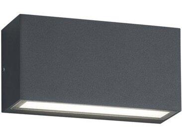 TRIO Leuchten LED Außen-Wandleuchte »TRENT«, UP and DOWN Beleuchtung, schwarz, anthrazit