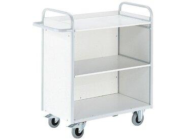 ROLLCART Bürowagen mit 3 Wänden, bunt, bunt