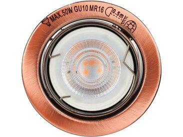 SPOT Light LED Einbauleuchte »Basic«, 1-flammig, Marke: CALI, Inklusive austauschbare LED-Leuchtmittel, 5W, 345lm, 2700K