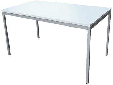 Arbeitstisch 160/80 cm, grau, grau