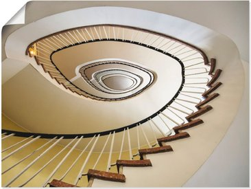 Artland Wandbild »Treppe - Wendeltreppe«, Architektonische Elemente (1 Stück), Poster
