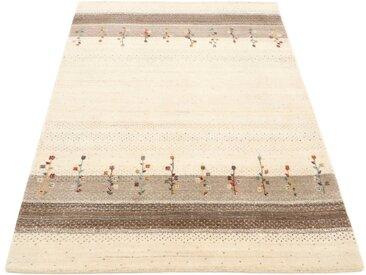 carpetfine Wollteppich »Gabbeh Loom Lori«, rechteckig, Höhe 15 mm, Sehr weicher Flor, braun, braun