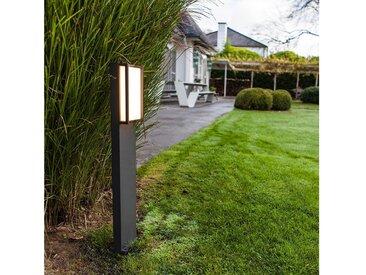 LUTEC LED Pollerleuchte »LED Qubo IP54 75cm Anthrazit«