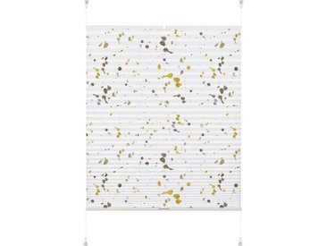 GARDINIA Plissee »EASYFIX Plissee Ambra Dots«, Lichtschutz, ohne Bohren, verspannt