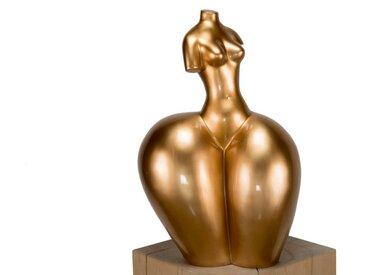 KUNSTLOFT Dekofigur »Curvy Lines«, handgefertigte Figur aus Kunststein