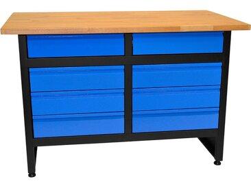 Güde GÜDE Werkbank »GW 8S«, blau, 84 cm, blau