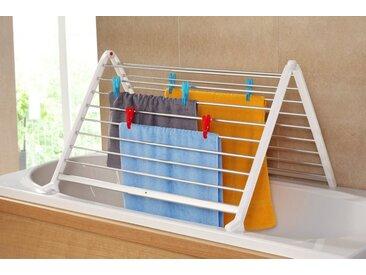 Ruco Badewannen-Wäscheständer, Aluminium/Kunststoff, ausziehbar bis max. 90 cm