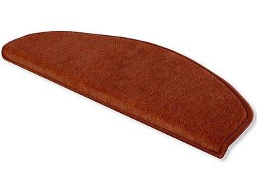 Floordirekt Stufenmatte »Sinfonie«, Halbrund, Höhe 10 mm, 1A, rot, Rot