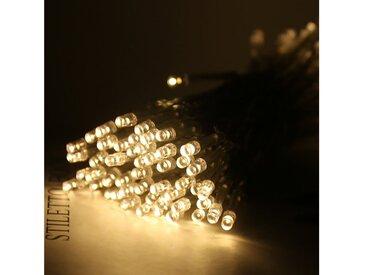 TOPMELON Lichterkette »LED-Lichterkette«, 30-flammig, Batterienbetrieben, gelb, 30 St. - 30 St., Warmweiß