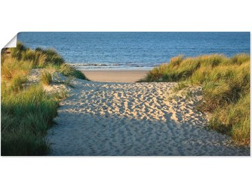 Artland Wandbild »Strandaufgang«, Strand (1 Stück), Poster