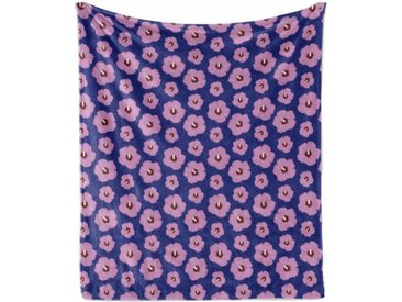 Abakuhaus Foulard »Gemütlicher Plüsch für den Innen- und Außenbereich«, Hibiskus Rhythmische Leuchtende Blumen