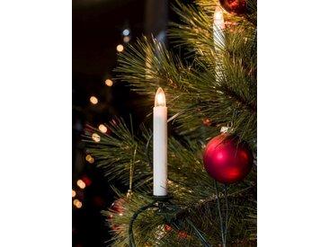 KONSTSMIDE Baumkette, Topbirnen, One String, weiß, Lichtquelle klar, Weiß