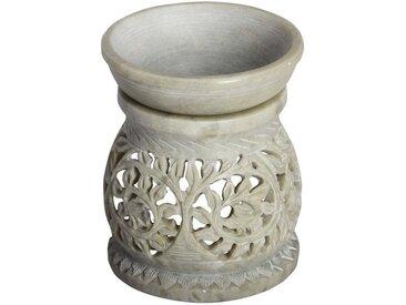 Casa Moro Duftlampe »Orientalische Duftlampe Shakir-1 aus Soapstone geschnitzt 10x10x11 cm (B/T/H) Diffusor, Teelicht-Halter für Aromatherapie