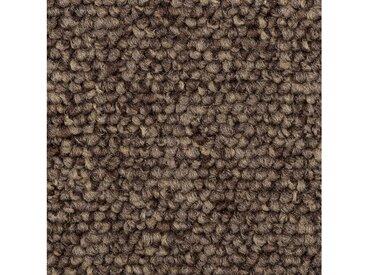 Bodenmeister BODENMEISTER Teppichboden »Schlinge Büro«, Meterware, Breite 400/500 cm, braun, braun/grau