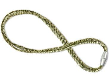 Gerster Raffhalter »Magic«, Gardinen, (2-tlg), grün, hellgrün-grün-dunkelgrün