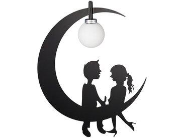 relaxdays Hängeleuchte »Kinderzimmerlampe Mond«