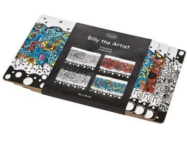 Goebel Platzset, »Pop Art Billy the Artist 4er Set«