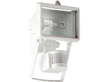 Brilliant Leuchten Tanko Außenwandstrahler 22cm Bewegungsmelder weiß, weiß, weiß