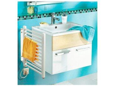SZ METALL Elektrischer Badheizkörper, Handtuchheizkörper, klein, weiß, weiß